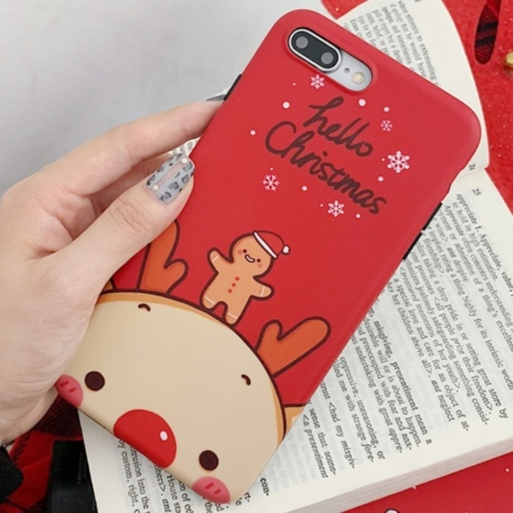 Accessories - NEW iPhone 7+/8+ Gingerbread Man Case